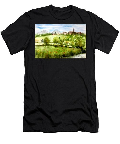A View From Tuscany Men's T-Shirt (Athletic Fit)