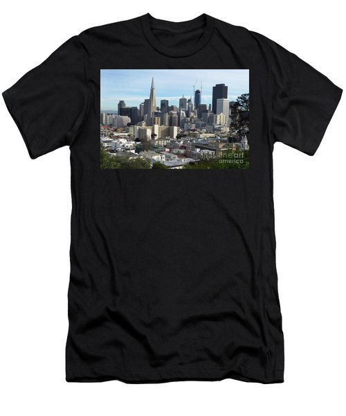 A View Of Downtown From Nob Hill Men's T-Shirt (Athletic Fit)