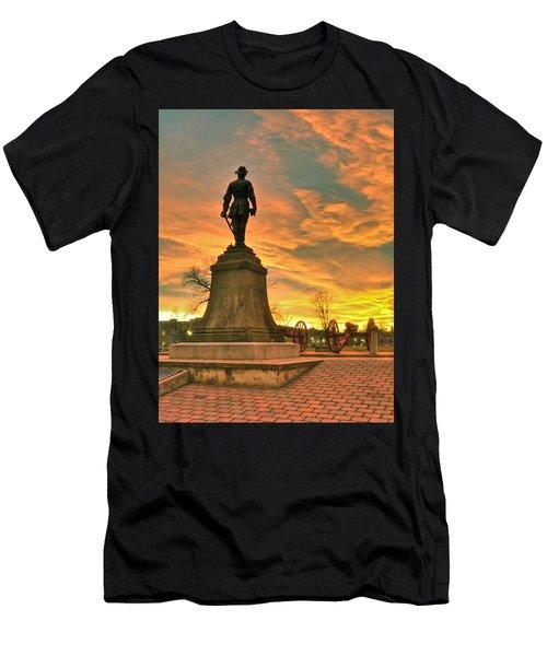 A Vmi Sunset Men's T-Shirt (Athletic Fit)