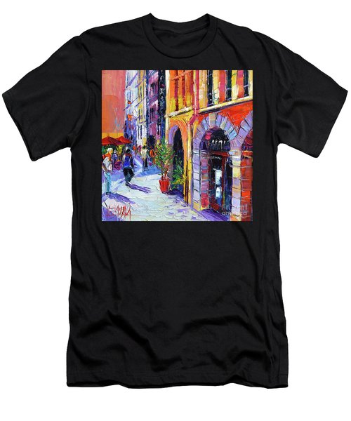 A Walk In The Lyon Old Town Men's T-Shirt (Athletic Fit)