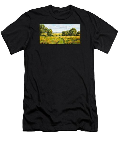 A Walk Thru The Fields Men's T-Shirt (Athletic Fit)