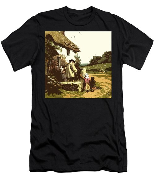 A Walk With The Grand Kids Men's T-Shirt (Athletic Fit)