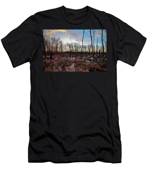 Men's T-Shirt (Slim Fit) featuring the photograph A Wet Decay by Ryan Crouse