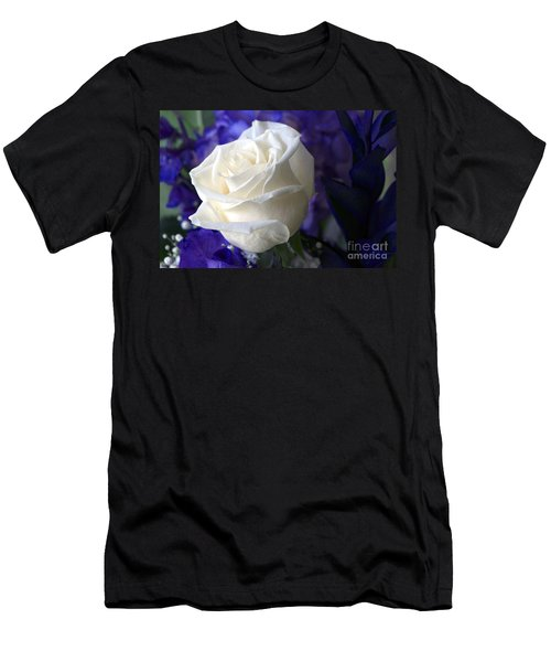 A White Rose Men's T-Shirt (Athletic Fit)