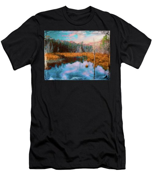 A Wilderness Marsh Men's T-Shirt (Athletic Fit)