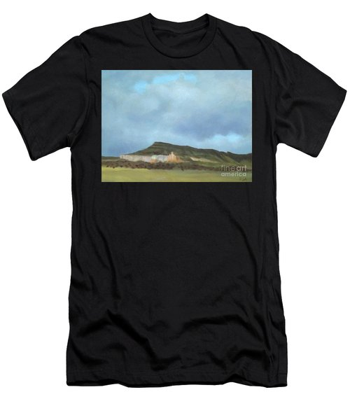 A Wintry Day In Abiquiu Men's T-Shirt (Athletic Fit)