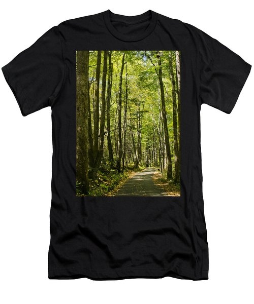 A Woodsy Trail Men's T-Shirt (Athletic Fit)