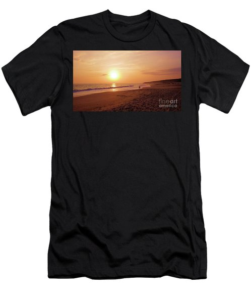 Men's T-Shirt (Athletic Fit) featuring the photograph A World For Two by Victor K