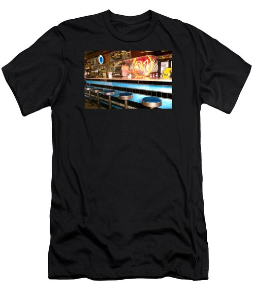 A1 Diner In Gardiner, Maine Men's T-Shirt (Athletic Fit)