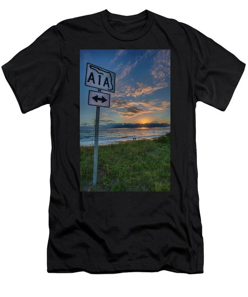 A1a Sunrise Men's T-Shirt (Athletic Fit)