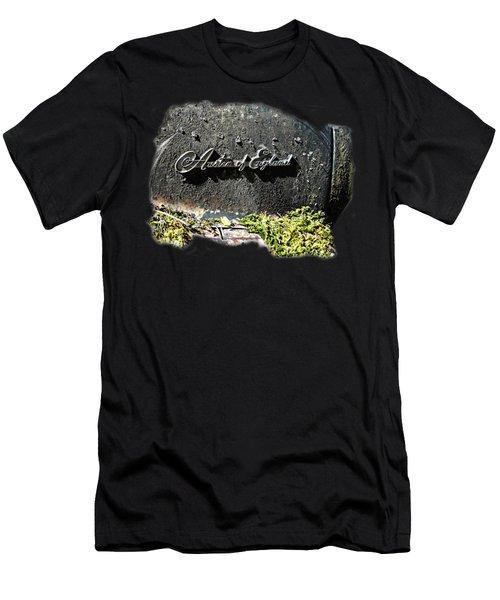 A40 Somerset Car Badge Men's T-Shirt (Athletic Fit)