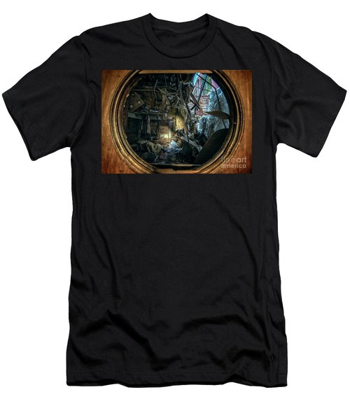 Abandoned Decay Men's T-Shirt (Athletic Fit)