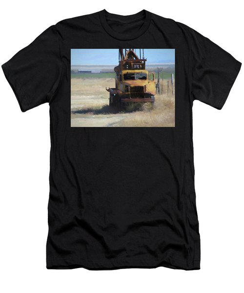 Abandoned Gmc Drill Rig Men's T-Shirt (Athletic Fit)