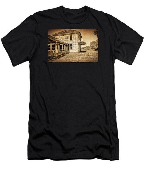 Abandoned House Men's T-Shirt (Slim Fit) by Bonnie Bruno