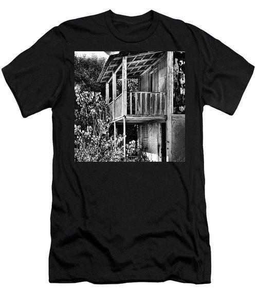 Abandoned, Kalamaki, Zakynthos Men's T-Shirt (Slim Fit)
