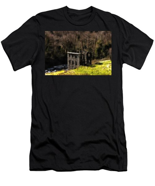 Abandoned Mill What Remains ... Men's T-Shirt (Athletic Fit)