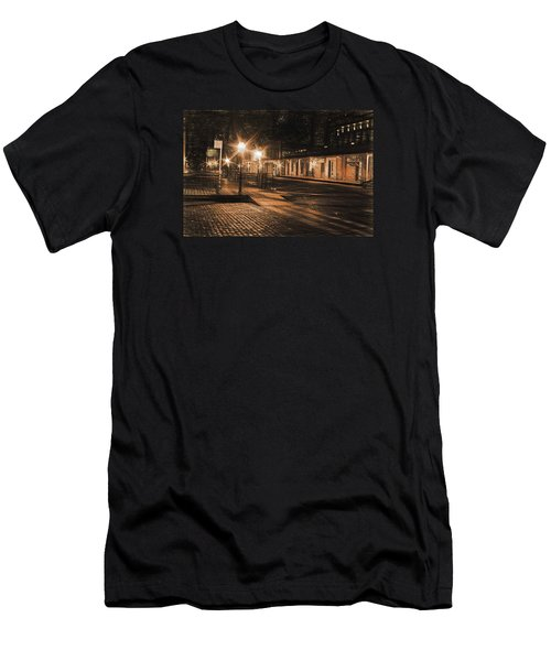 Abandoned Street Men's T-Shirt (Athletic Fit)