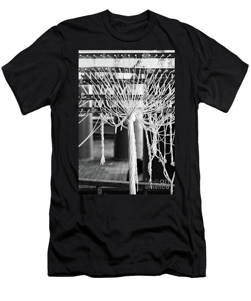 Abandoned Textile Mill, Lewiston, Maine  -48692-bw Men's T-Shirt (Athletic Fit)