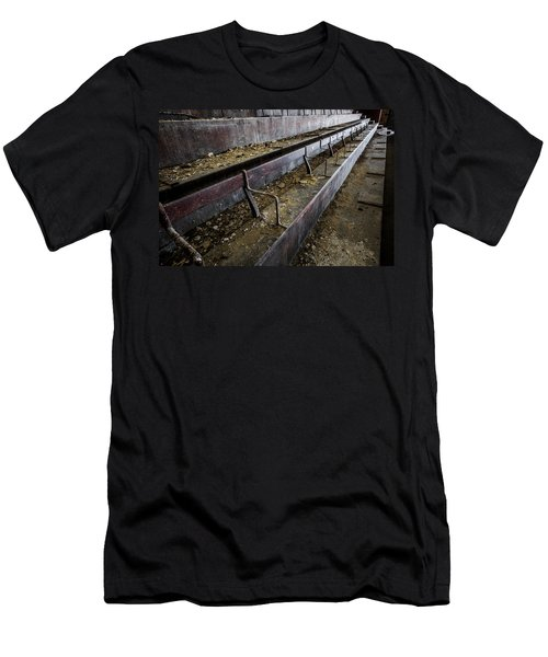 Abandoned Theatre Steps - Architectual Abstract Men's T-Shirt (Athletic Fit)