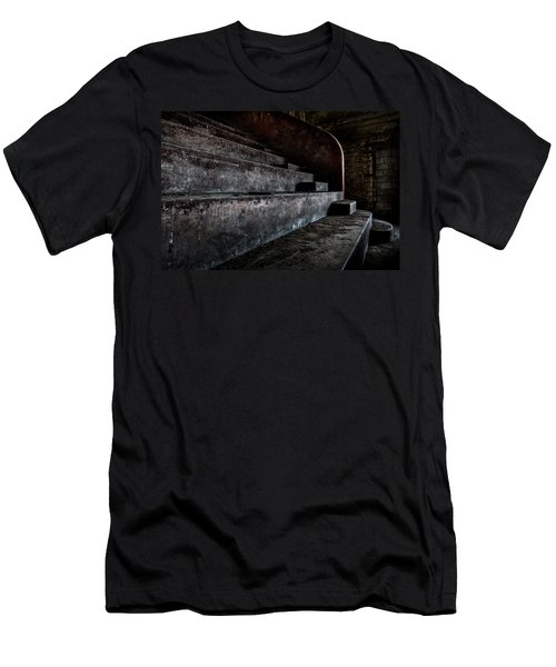 Abandoned Theatre Steps - Architectual Heritage Men's T-Shirt (Athletic Fit)