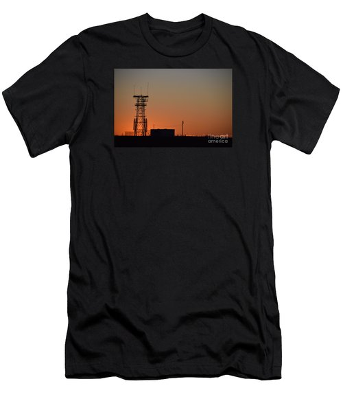 Abandoned Tower Men's T-Shirt (Slim Fit) by Mark McReynolds