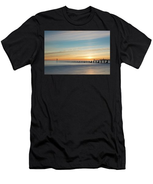 Aberdeen Beach Sunrise Men's T-Shirt (Athletic Fit)
