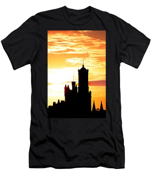 Aberdeen Silhouettes - Portrait Men's T-Shirt (Athletic Fit)