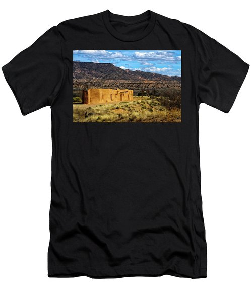 Abiquiu Church Men's T-Shirt (Athletic Fit)