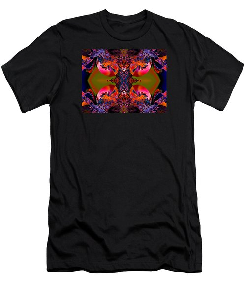 About To Be Born Men's T-Shirt (Slim Fit) by Claude McCoy
