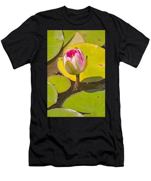 About To Bloom Men's T-Shirt (Athletic Fit)