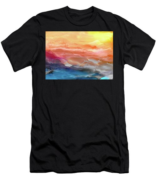 Above The Abyss Men's T-Shirt (Athletic Fit)