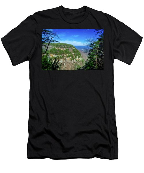 Above The Canyon Men's T-Shirt (Athletic Fit)