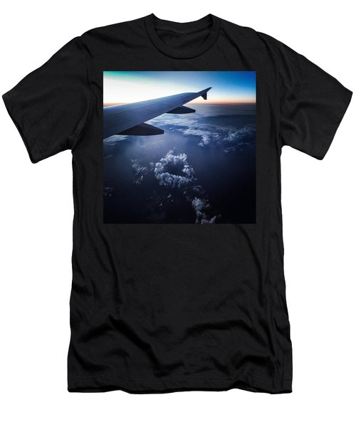 Above The Clouds 02 Heart Cloud Men's T-Shirt (Athletic Fit)