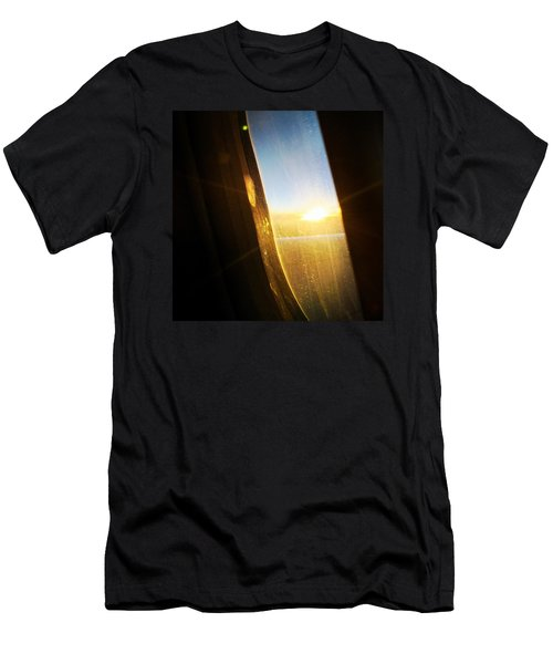 Above The Clouds 05 - Sun In The Window Men's T-Shirt (Slim Fit) by Matthias Hauser