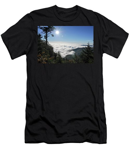 Above The Clouds Men's T-Shirt (Athletic Fit)
