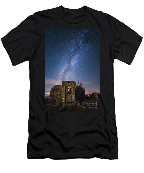 Above The Cuba Men's T-Shirt (Slim Fit) by Giuseppe Torre