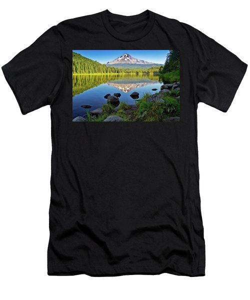 Above The Lake Men's T-Shirt (Athletic Fit)