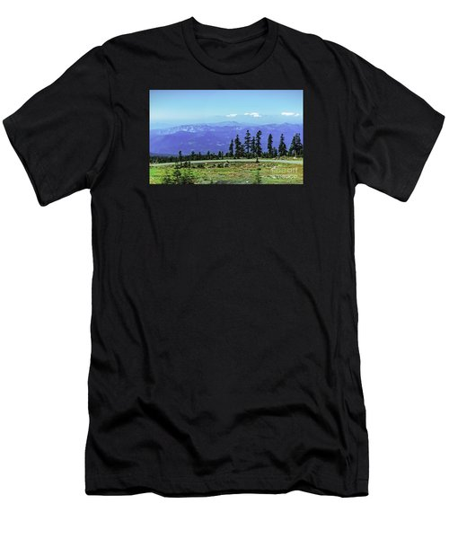 Above The Smoke Men's T-Shirt (Athletic Fit)