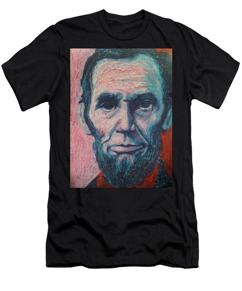 Abraham Lincoln Men's T-Shirt (Slim Fit) by Regina WARRINER