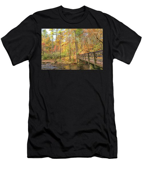 Abrams Falls Trailhead Men's T-Shirt (Athletic Fit)
