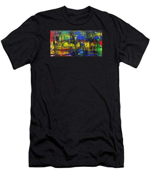 Abstract # 2  Men's T-Shirt (Athletic Fit)