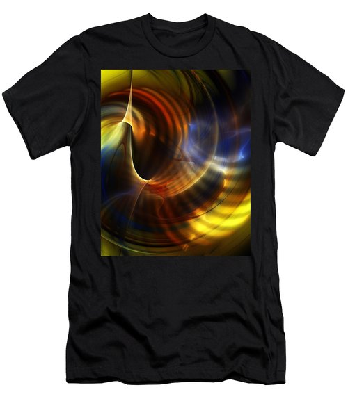 Abstract 040511 Men's T-Shirt (Athletic Fit)