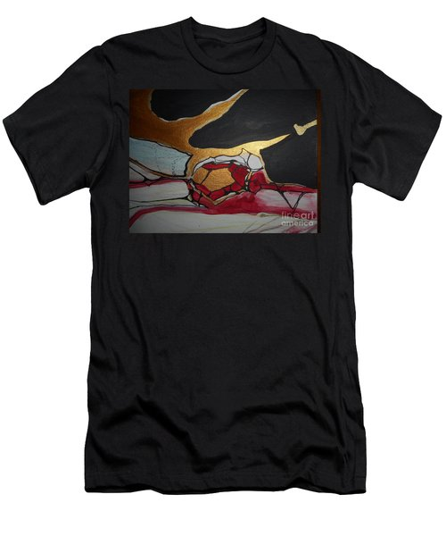 Abstract-11 Men's T-Shirt (Athletic Fit)