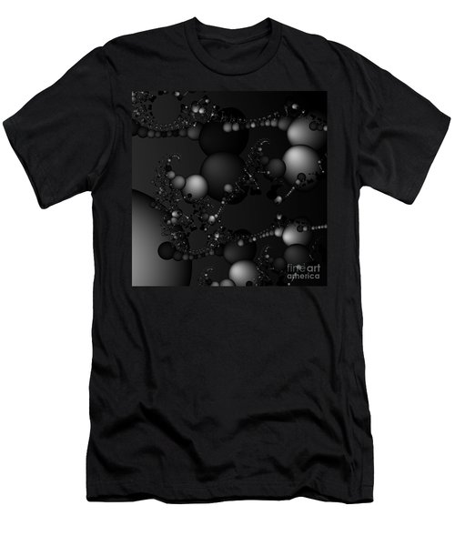 Abstract 119 Bw Men's T-Shirt (Athletic Fit)