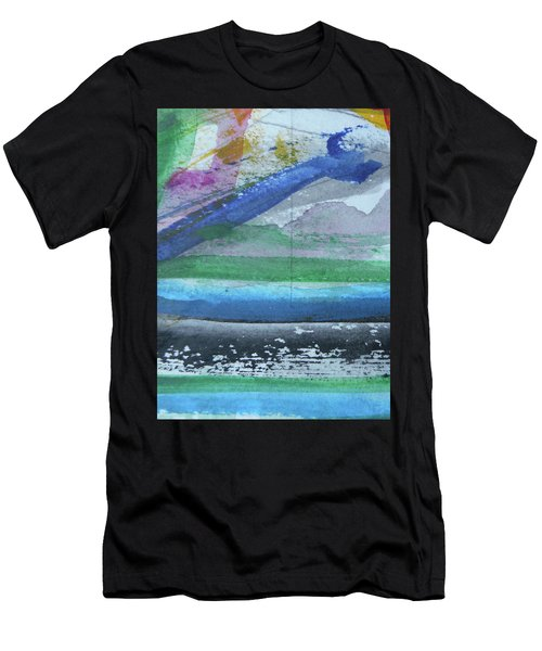 Abstract-18 Men's T-Shirt (Athletic Fit)