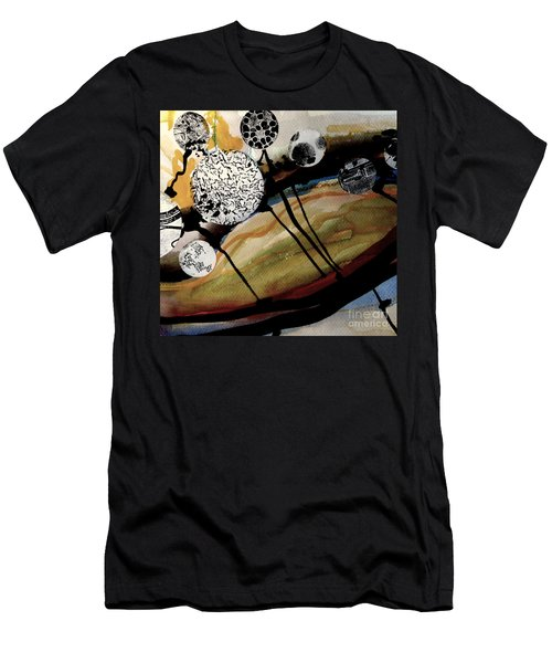 Abstract-23 Men's T-Shirt (Athletic Fit)
