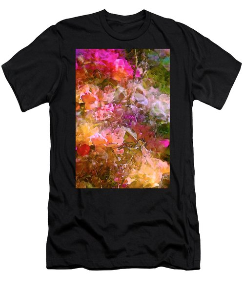 Abstract 276 Men's T-Shirt (Slim Fit) by Pamela Cooper