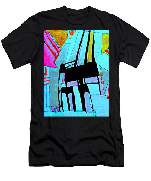 Abstract-28 Men's T-Shirt (Athletic Fit)
