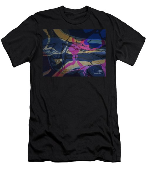 Abstract-33 Men's T-Shirt (Athletic Fit)
