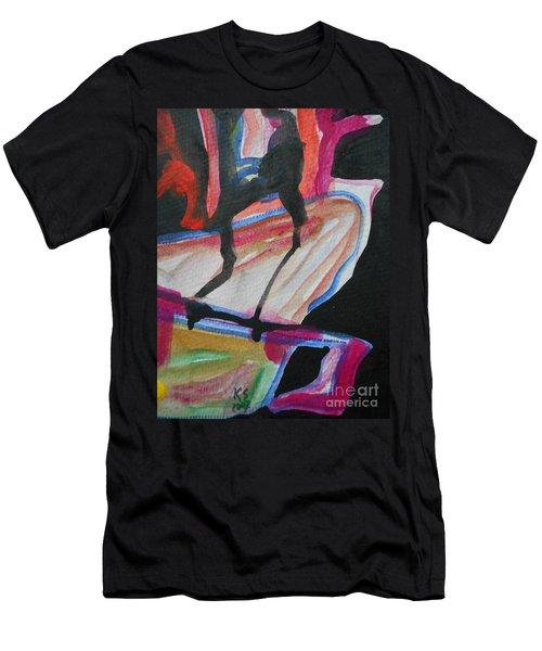 Abstract-5 Men's T-Shirt (Athletic Fit)